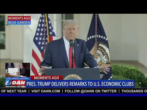 President TRUMP Delivers Remarks to U.S. Economic Clubs 10/14/20