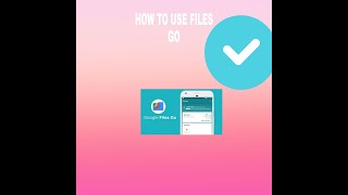 HOW TO USE FILES GO.REPLACEMENT OF XENDER AND SHARE IT screenshot 5