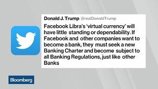 Trump Warns Facebook on Crypto