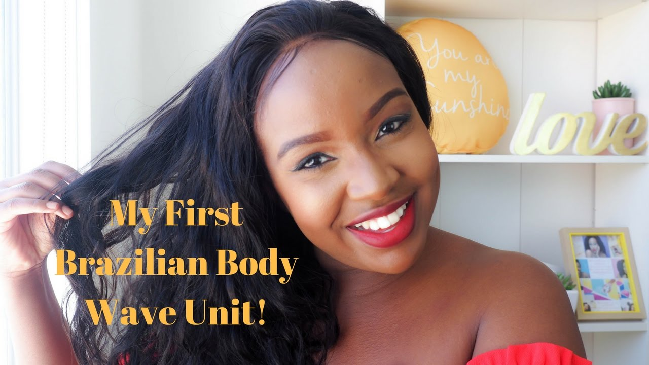 My Very First Time Virgin Brazilian Body Wave Wig From Omgqueen Com Review Youtube