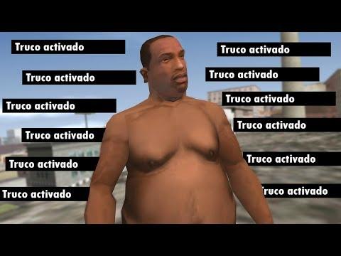Esto Pasa Si ACTIVAS Todos Los TRUCOS Del GTA San Andreas !