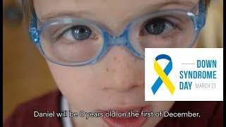 Daniel and Speech Blubs - World Down Syndrome Awareness Day