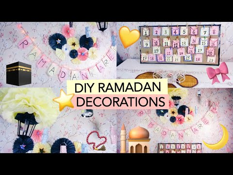 Last Minute DIY Ramadan Decorations!