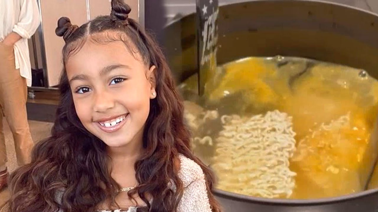 North West Shows Off CULINARY SKILLS With Ramen Tutorial