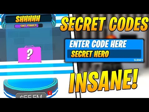 Robloxsuperhero Simulator Code Youtube New All Secret Codes For Superhero Simulator Roblox Youtube