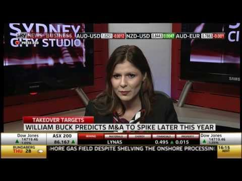 Merger Activity about to Spike | Sky Business News | William