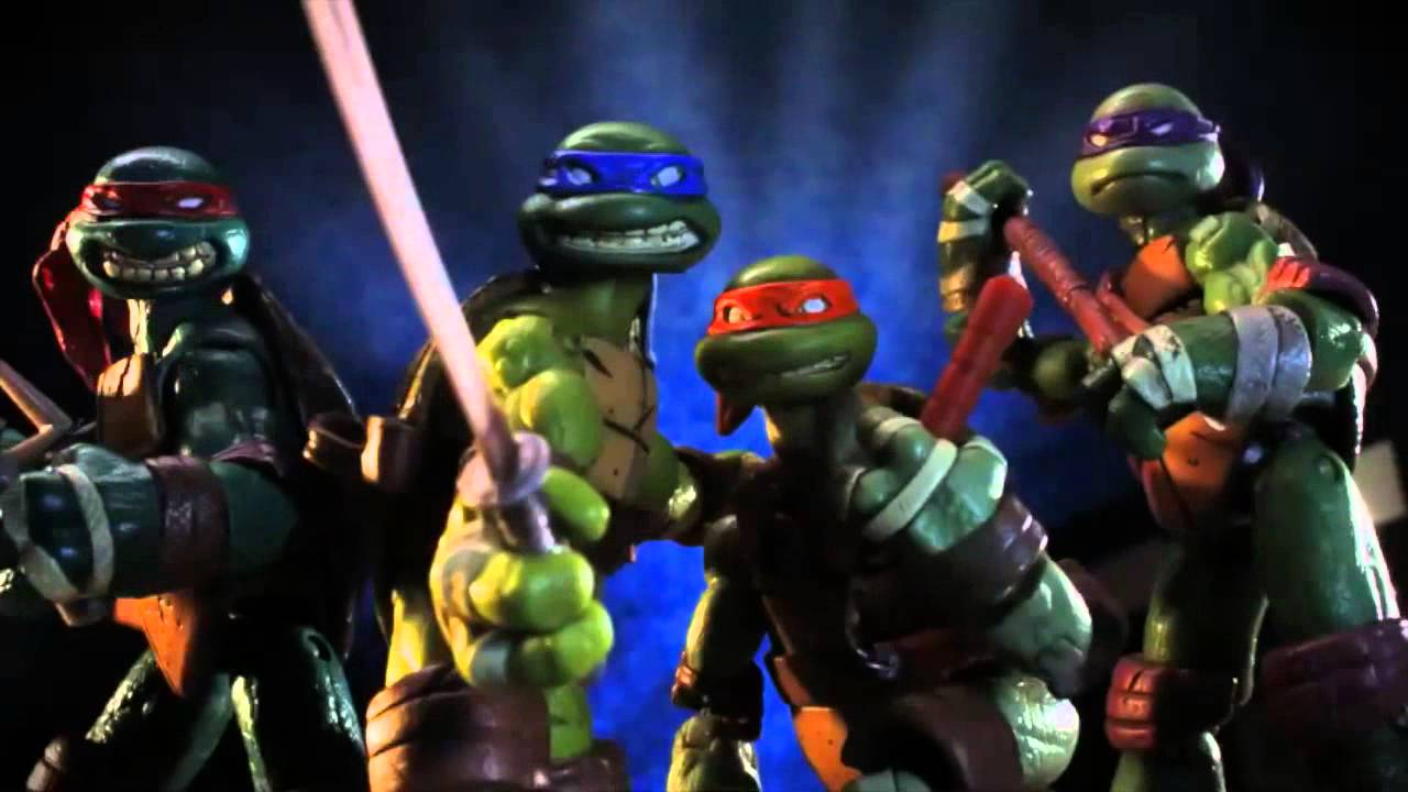 Teenage Mutant Ninja Turtles Action Figure Stop Motion Youtube