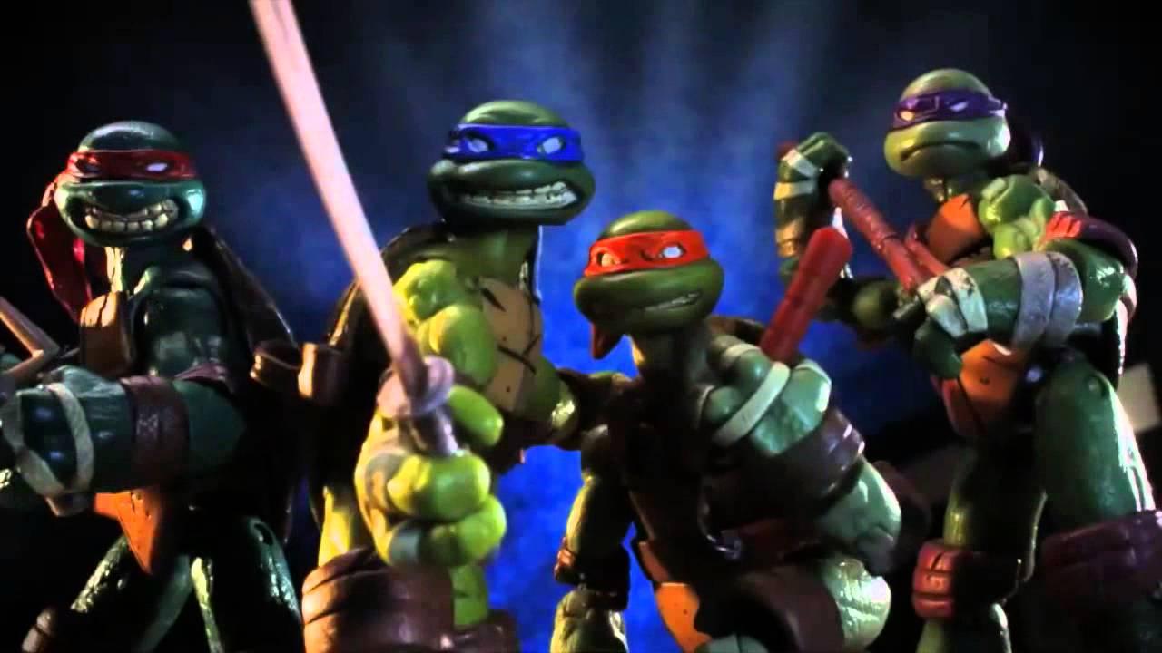 Teenage Mutant Ninja Turtles Toy Action Figure Youtube