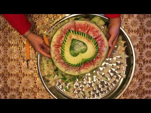 Watermelon carving 4