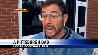 DAD REACTS TO SUPER BOWL