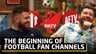 The Beginning Of Football Fan Channels