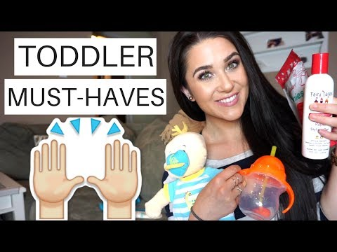 TODDLER ESSENTIALS & MUST-HAVES FOR A 1...