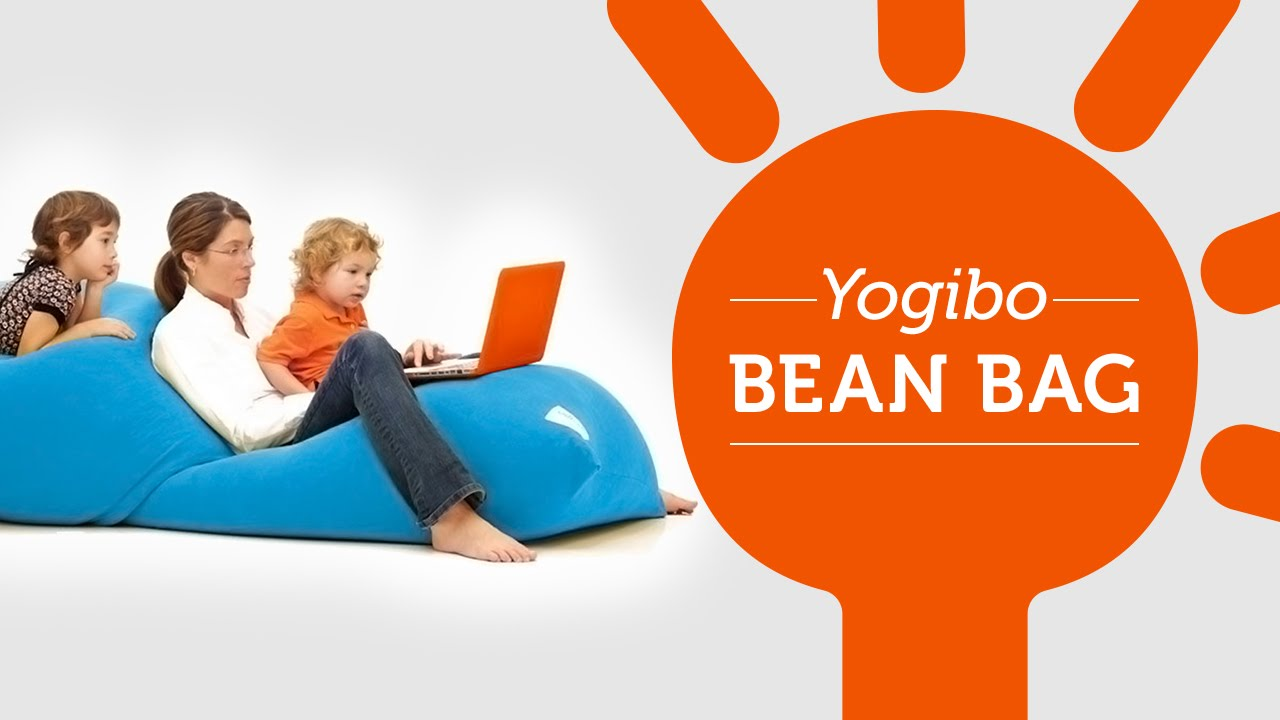 Watch how versatile and comfortable the Yogibo bean bag lounger is – Bean Bag Chairs Yogibo