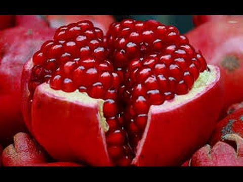 POMEGRANATE OPENING - Awesome Pomegranate Technique - jak otworzyć granat