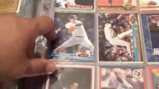 Nolan Ryan baseball card collection.