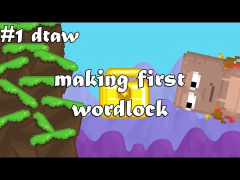 MAKING FIRST WORLDLOCK | #1 Dirt To Autumn Wing | Growtopia