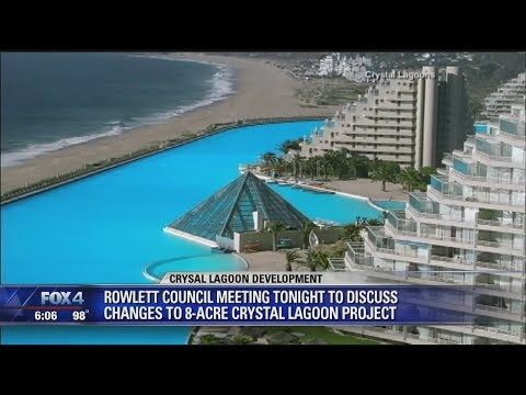 Plans now murky for Rowlett's Crystal Lagoon project