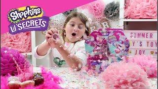 NEW Shopkins Lil Secrets Party Pop Ups