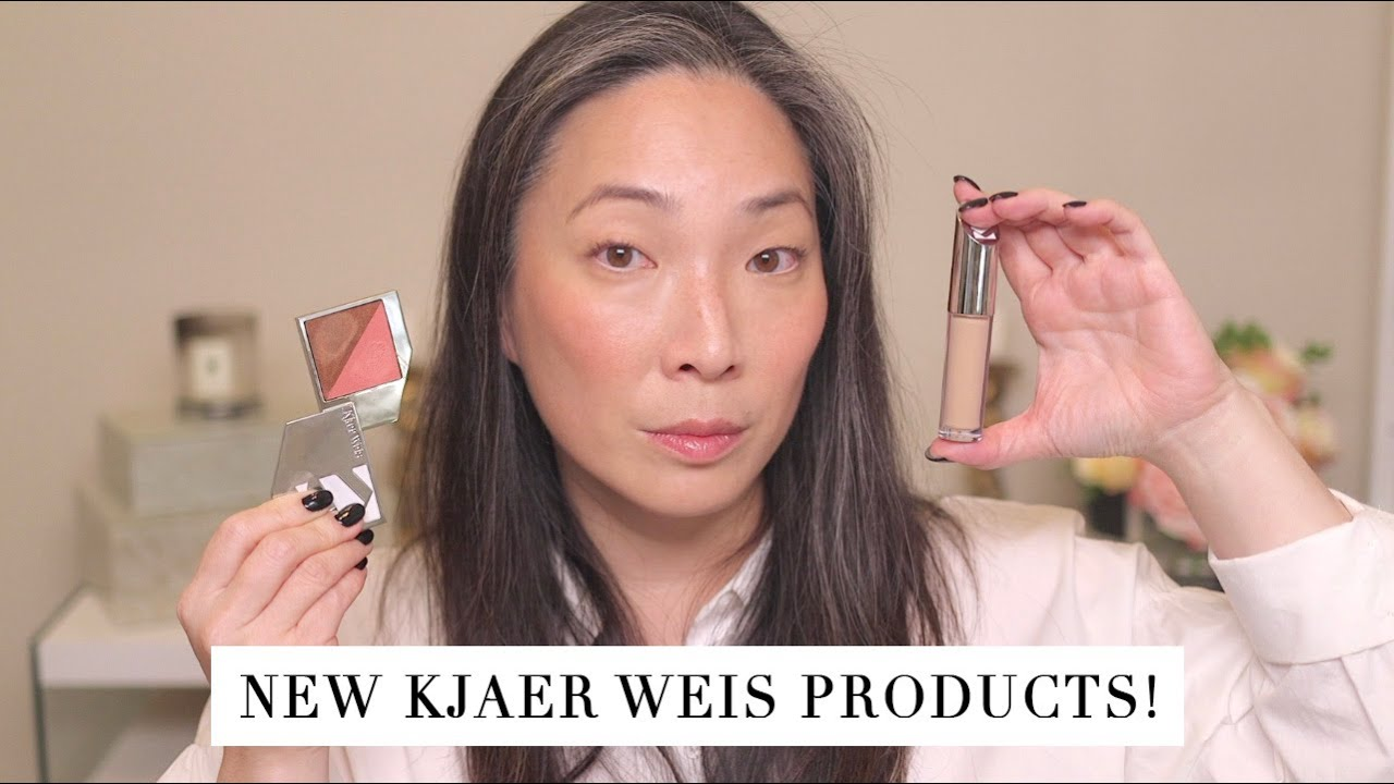 KJAER WEIS - Invisible Touch Concealer and Flush and Glow Wear Test