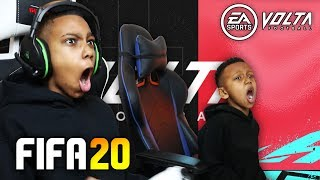 Can i Beat my Little Bro in a FIFA 20 VOLTA Match