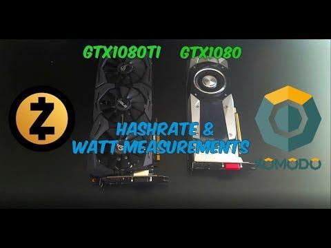 Hashrate Of 1080 Ti