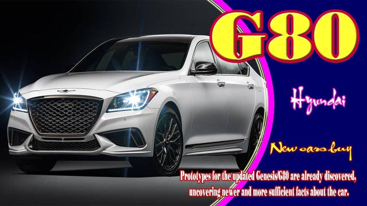 2019 Hyundai G80 Sport Sedan New Cars