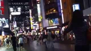 渋谷の夜 Walking around Shibuya at night Tokyo Japan