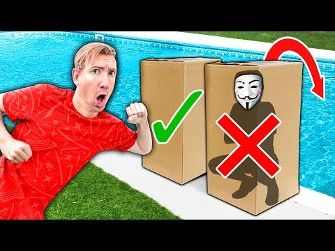 DONT Push the Wrong Mystery Box into Pool Water - Project Zorgo Hacker Challenge