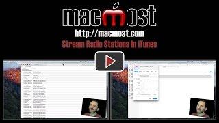 Stream Radio Stations In iTunes (#1267)
