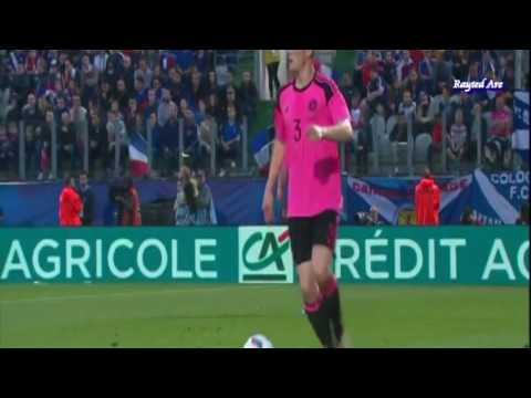 "Andrew ""Andy"" Robertson (Scotland) vs France  (5th June, 2016)"