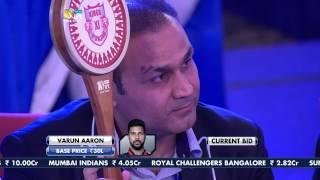 VIVO IPL Player Auction 2017  - Kings XI Punjab
