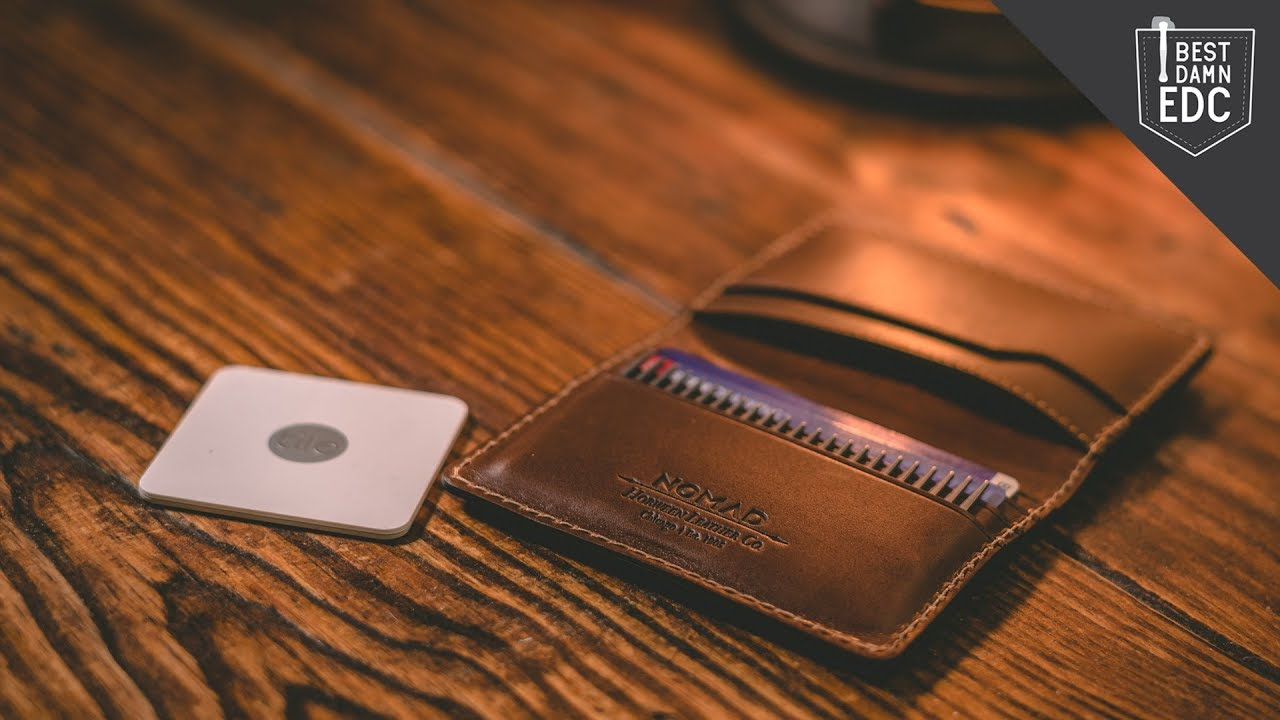 unboxing the wallet you ll never lose nomad slim wallet with tile tracking