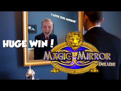 BIG WIN!!!! Magic Mirror Delux - Casino Games - bonus round (Casino Slots)