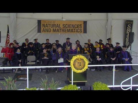 2016 CSULB Commencement -College of Natural Sciences & Mathematics