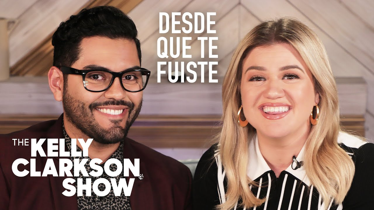 Can Kelly Clarkson Identify Her Own Songs In Spanish? | Digital Exclusive