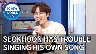 Reason Seokhoon is not promoting his new song [Happy Together/2019.12.05]