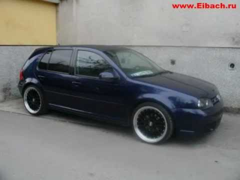 eibach vw golf iv pro street s youtube. Black Bedroom Furniture Sets. Home Design Ideas