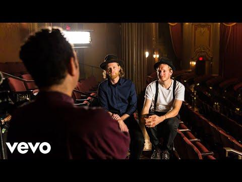 "The Lumineers - The Lumineers Talk ""Sleep on the Floor"" with the Artists Den"