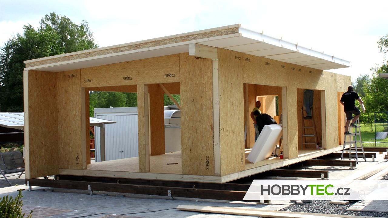 Download Postup stavby a časový harmonogram montovaného domu - kompletní stavba