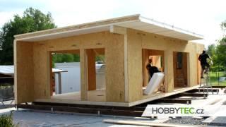 Postup stavby a časový harmonogram montovaného domu - kompletní stavba