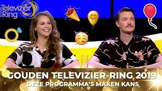 Televizier-Ring 2019: Dit zijn de vijf Wildcards