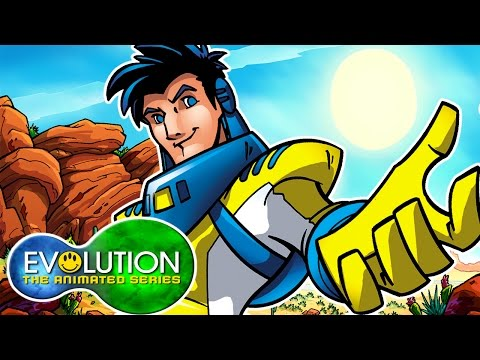 Evolution: The Animated Series | Survival (Part 1) | HD | Full Episode | Superhero Cartoons