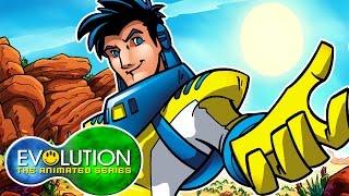 Evolution: The Animated Series | Survival (Part 1) | HD | Full Episode | Superhero Cartoons