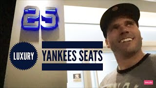 Luxury Suite Box Tour at Yankees game | Life With Lo