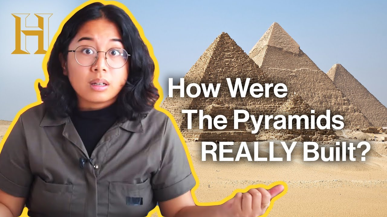 Could the Pyramids be made today?   History Remade with Sabrina