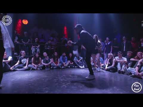 Alianz Street Battle / Locking & Waacking / TOP 8 / Zafiro & Flor vs Betu & Victor