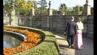 Театрализованная свадьба в замке Добриш, Чехия