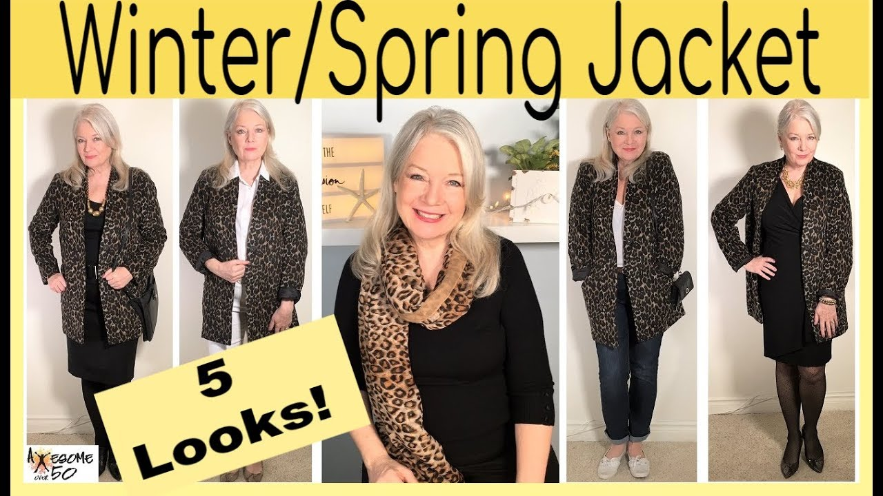 4ba5c070f Winter, Spring, Fall, New Jacket 5 Looks, Leopard & Animal Prints, Fashion  & Style , Women over 50