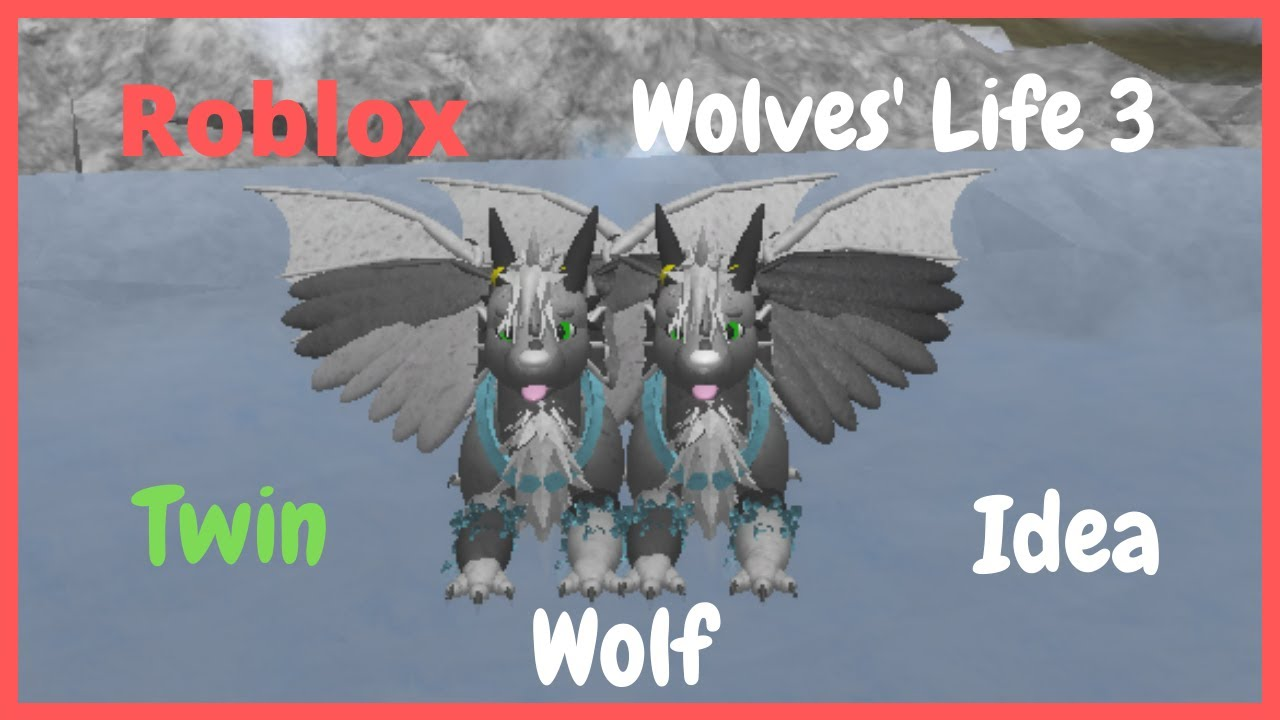 Roblox Wolves Life 3 Female Wolf Ideas Youtube Roblox Wolves Life 3 Twin Wolf Idea Youtube