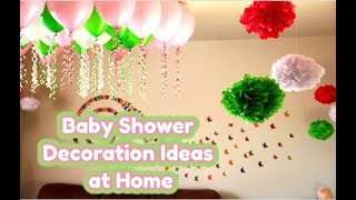 DIY | Baby Shower Decoration Ideas | Simple Gender Reveal Idea | at Home